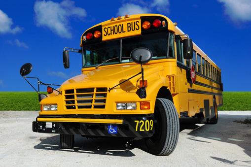 cummins powered school bus