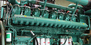 cummins power genset