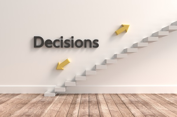visual of decisionmaking choice