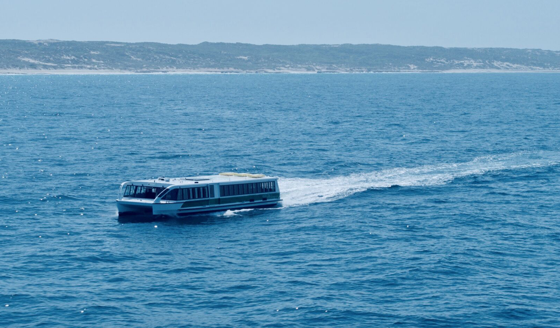 The 24 X 5.5-meter Cummins Powered MV Tricia on sea trials