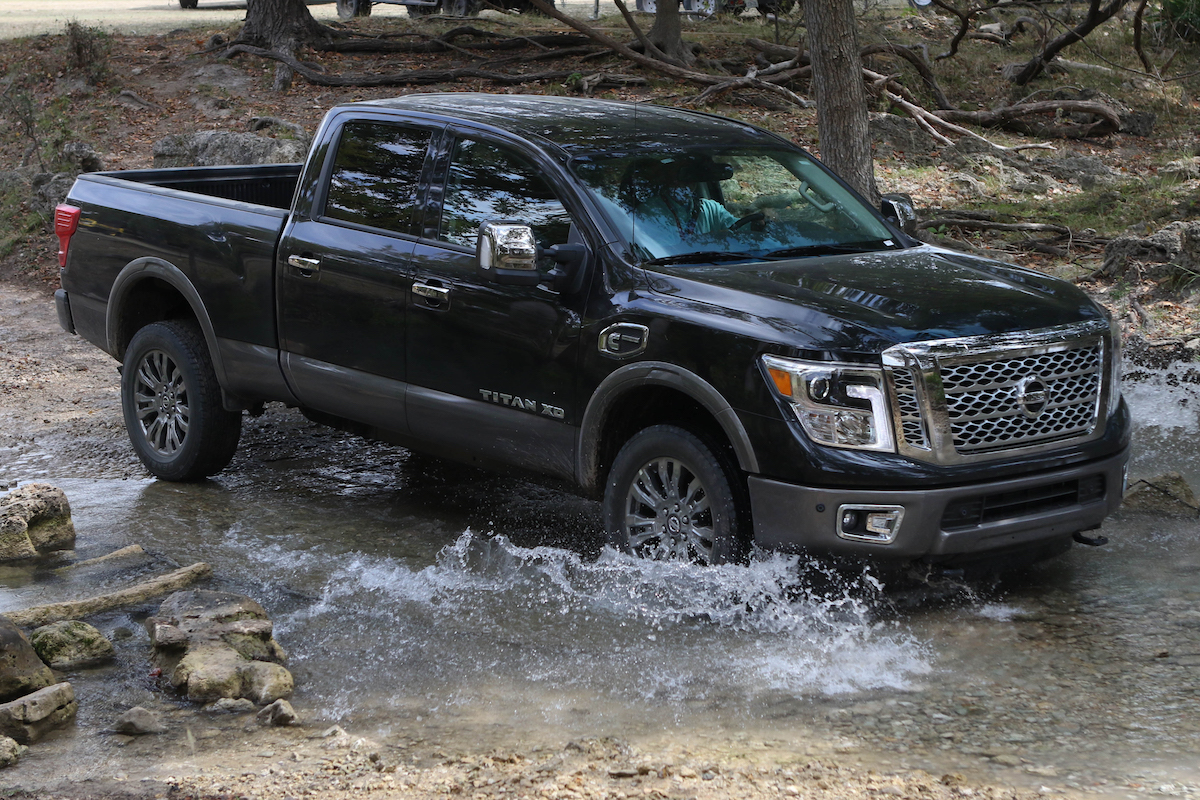 Cummins Powered Titan Xd Named 2016 Pickup Of The Year Inc Old Nissan Trucks For Sale