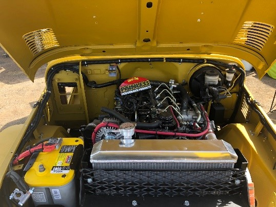 Cummins R2.8 powered Jeep