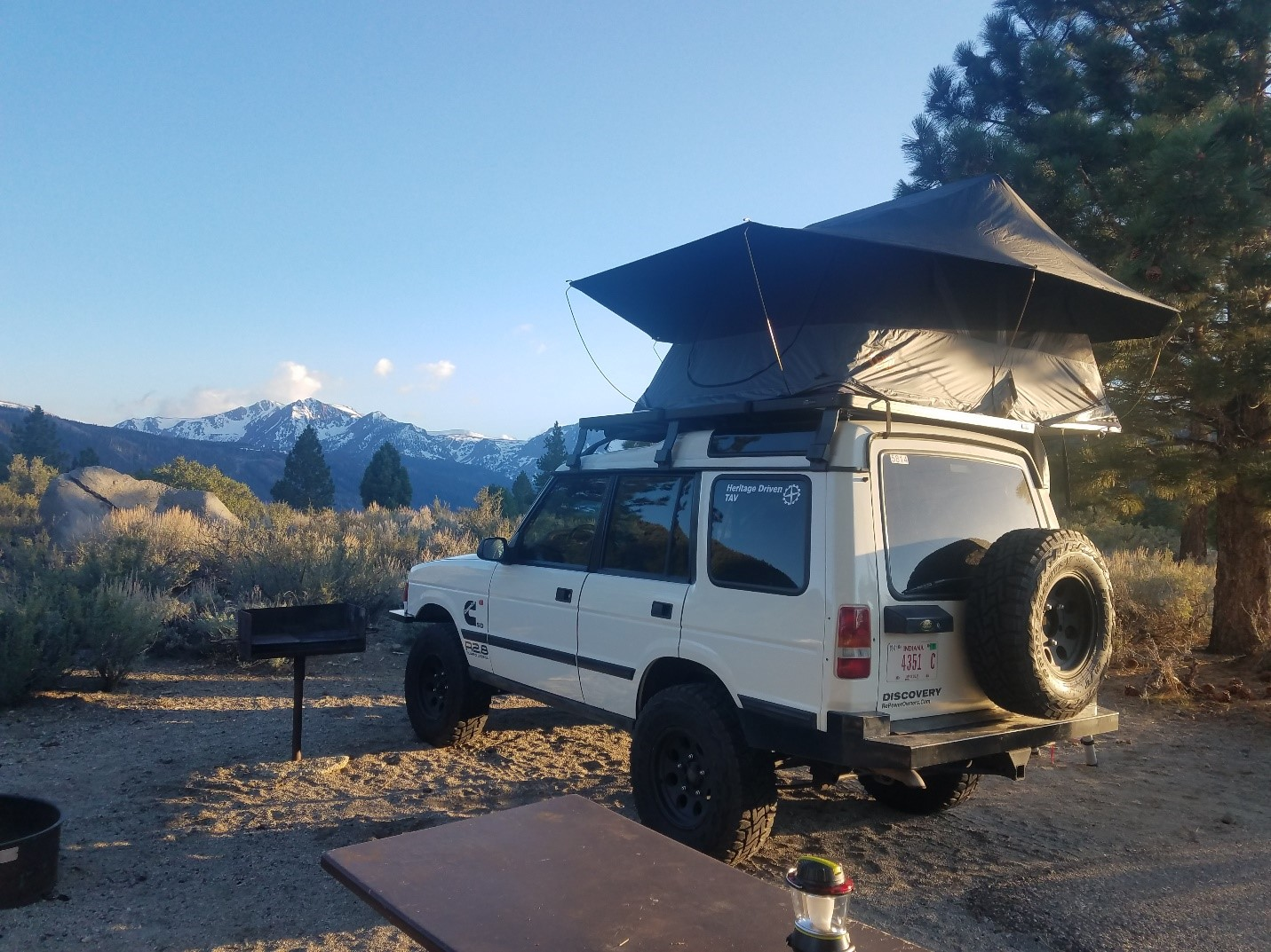 Top Rv Maintenance Tips From Cummins For Travel Season Inc 1988 Country Coach Wiring Diagram 12v Camp Was Set Up Overlooking A Mountain Lake At 8000 Ft Elevation Which Made Chilly Nights Sleep But Some Amazing Views In The Morning