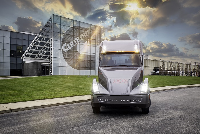 AEOS - Cummins heavy duty electric concept truck