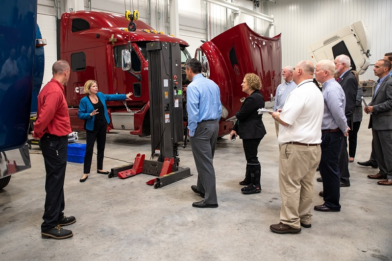 Dedication of Cummins Machine Integration Center