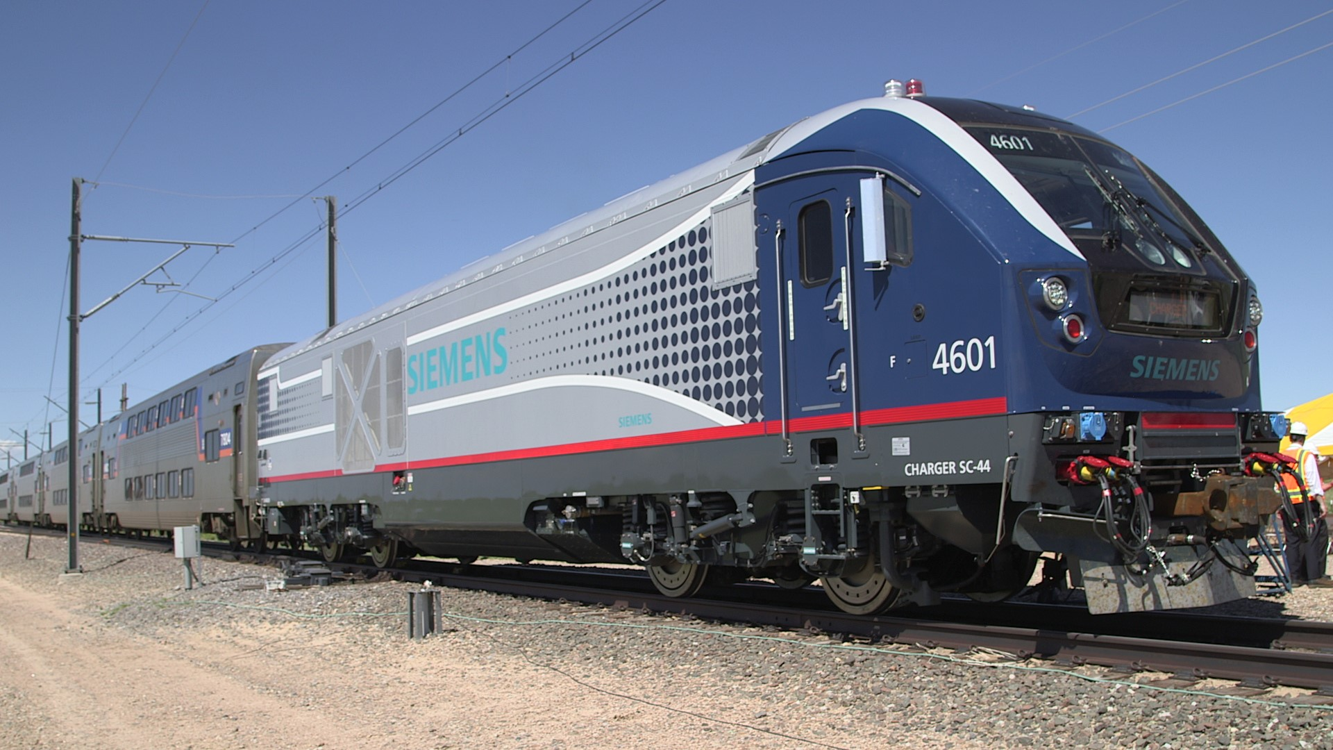 Charger locomotive