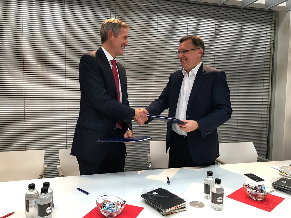 Cummins and Kamaz sign agreement for electrification