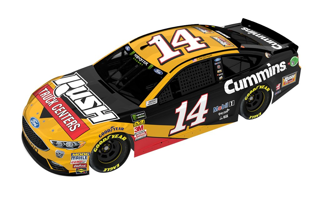 The No. 14 car pictured here will race at Bristol Motor Speedway on Aug. 18, 2018