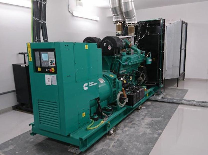 Cummins generator set