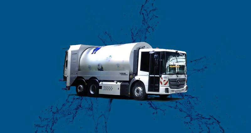 Fuel Cell Refuse Truck