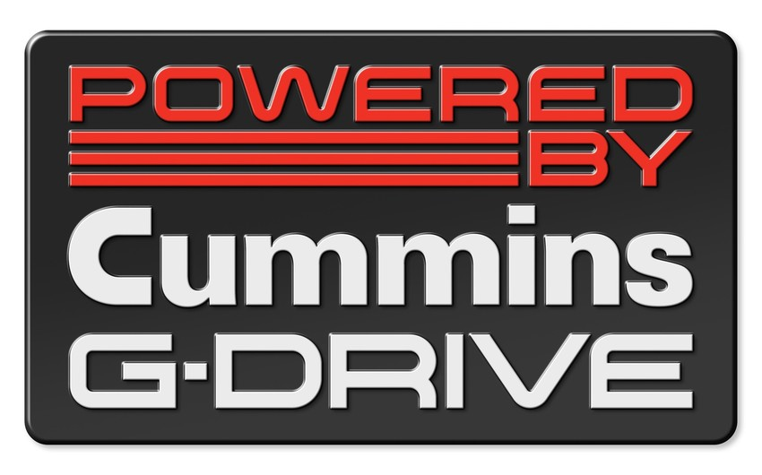 Powered by Cummins G-Drive