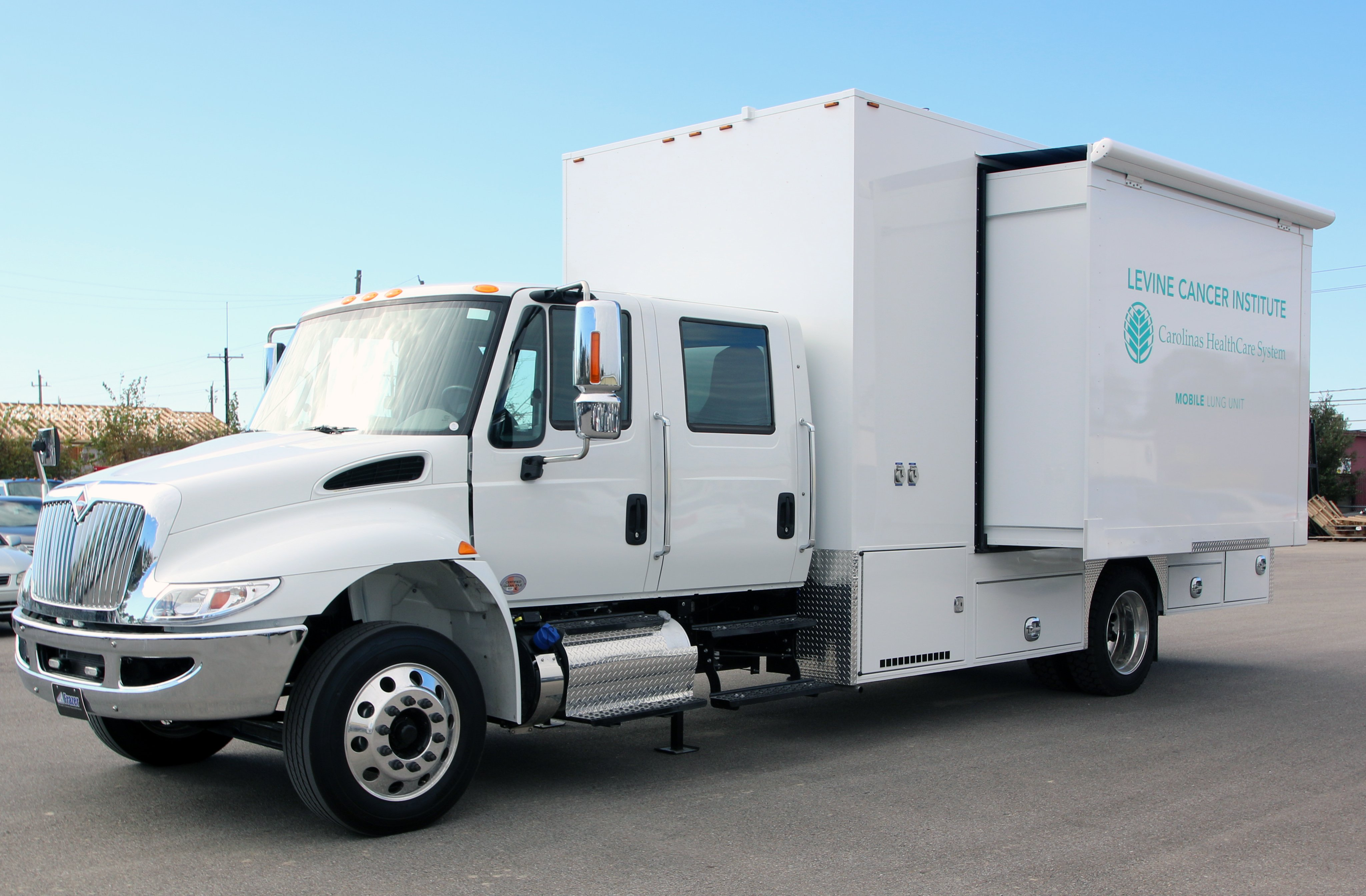 Specialty mobile healthcare unit