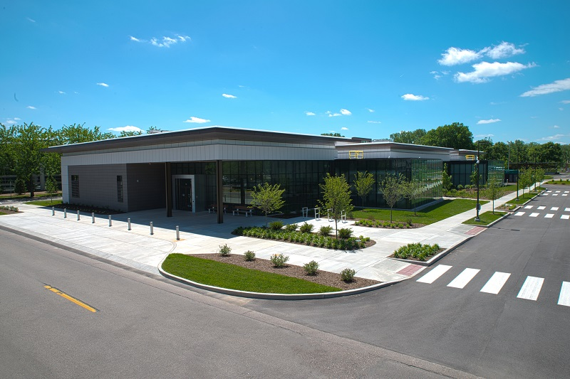 Cummins' LiveWell Center in Columbus, Indiana (U.S.A.)