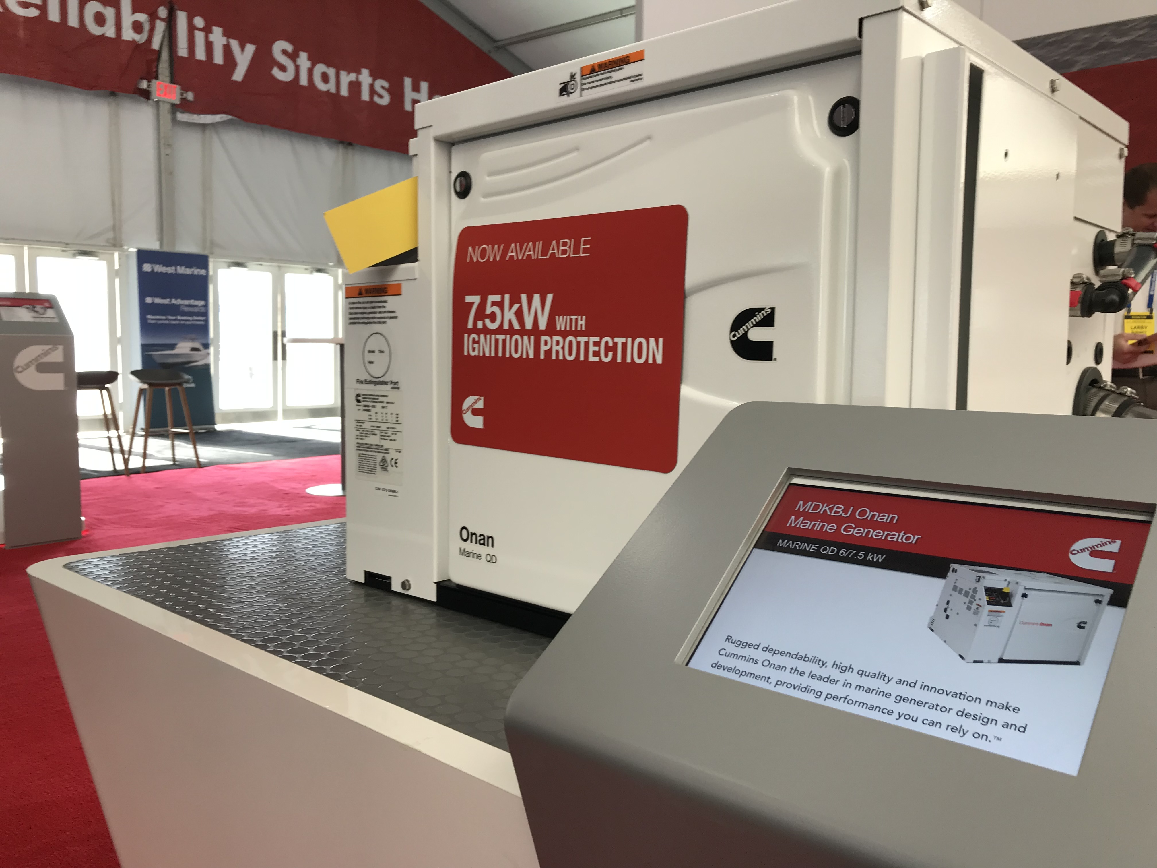 Cummins Launches New Ignition Protected Marine Generator