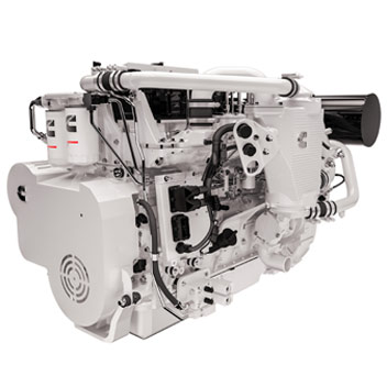 Cummins auxiliary marine engines
