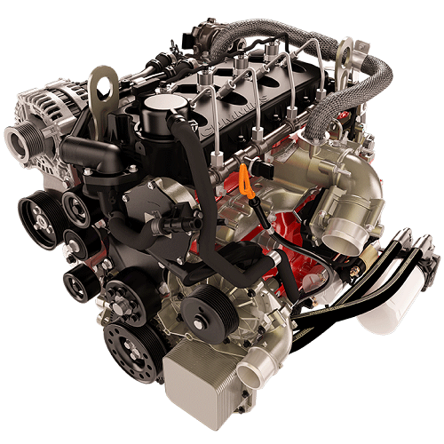 Cummins' R2.8 turbo diesel engine