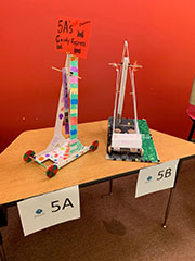 Gravity cruiser prototypes created by students at SEEK