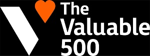 Logo for The Valuable 500 website
