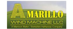 logotipo de amarillo wind machine