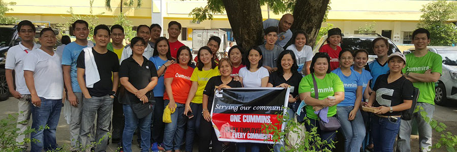 Cummins Philippines gives back to the community