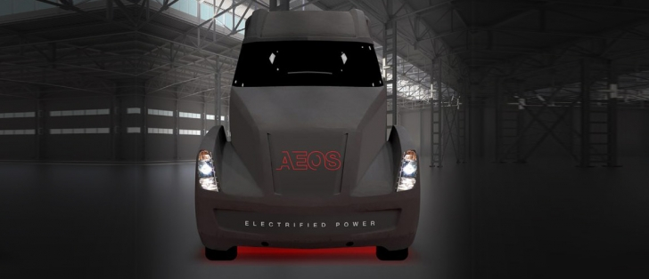 Cummins AEOS all-electric concept truck