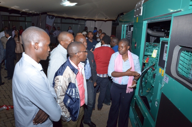 Cummins demonstrated its 500 kVA generator sets to delegates from across the sector