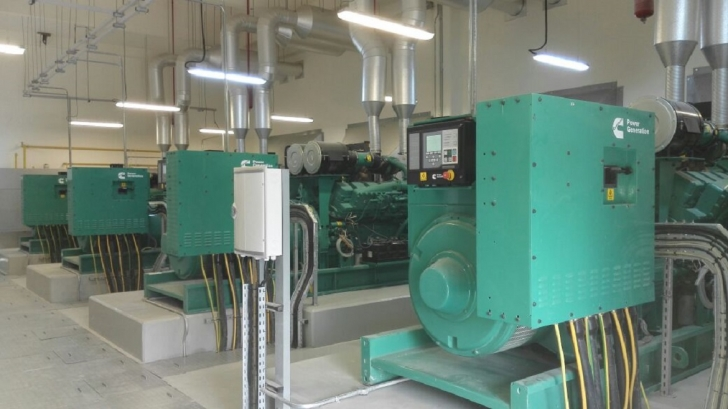 Cummins generators installed at King Hussein Cancer Center, Amman, Jordan