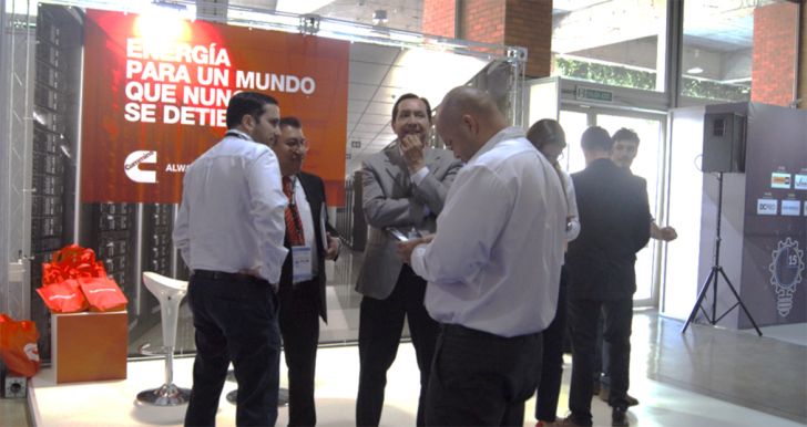 Debuting at Data Center Dynamics Chile, Cummins secured a large booth located in a prominent place at the fair entrance and several key speaker slots.