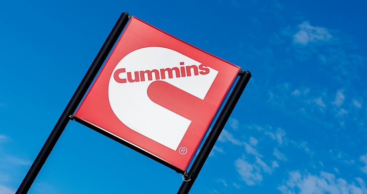 Cummins Distributor Sign