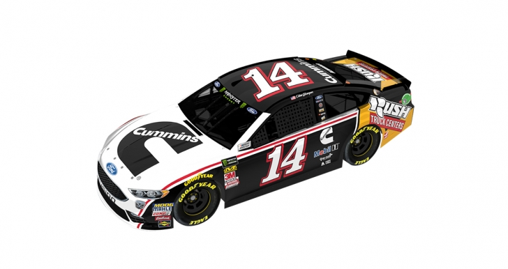 The No. 14 car pictured here will race at Talladega Superspeedway on Oct. 14, 2018