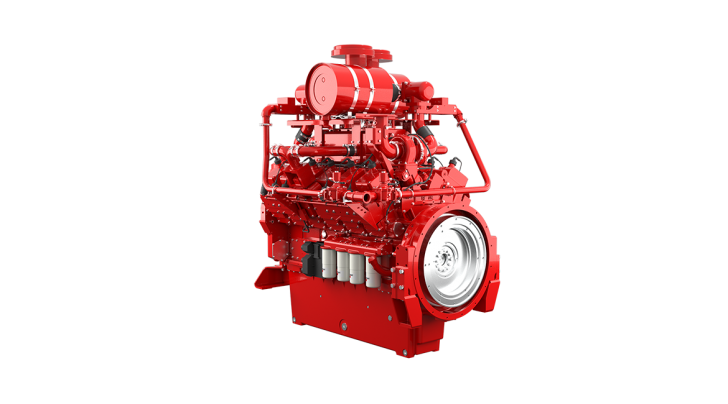 QSK38 Oil Gas Engine Picture