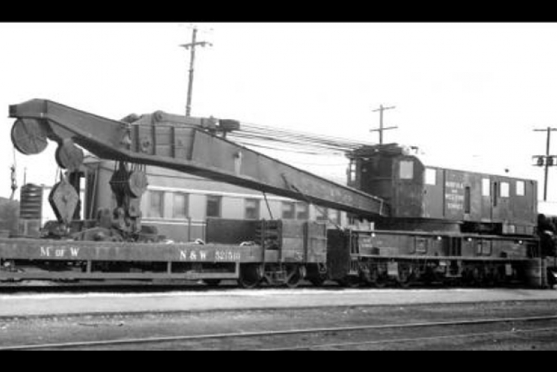Cummins-powered 1945 Norfolk & Western 514923