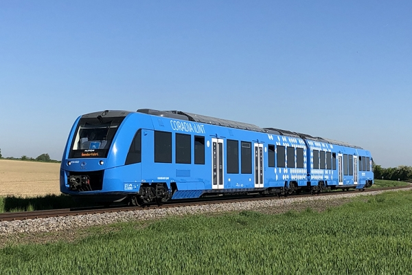 Alstom hydrogen-powered train