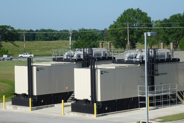 Cummins supplied the Tier 4 Final Certified power upgrade at the Beaver Water District to support increased water treatment operations.