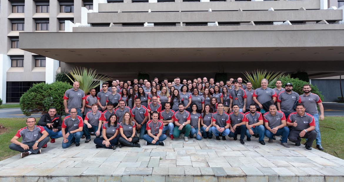 Around 90 employees attended the São Paulo 'Synergy is Power' event