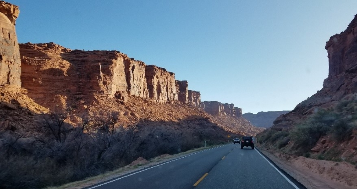 Tuesday Was Our First Day Out On The Trails In Moab For Easter Jeep Safari  2018. Bright And Early, The Cummins Repower Team Met Up With Some  Friends/fellow ...