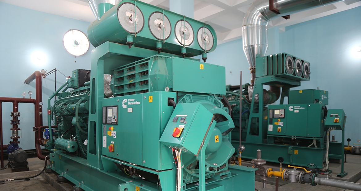 Cummins Power Generation cogeneration solution powered by two Cummins QSK60G gas generators at ACI Godrej, Bangladesh