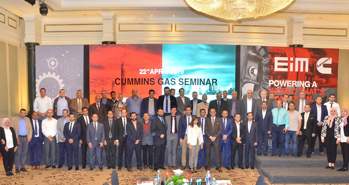 With natural gas distribution on the brink in Egypt, Cummins authorized distributor recently stepped up its offerings and is bringing awareness of Cummins gas-based power solutions to the country