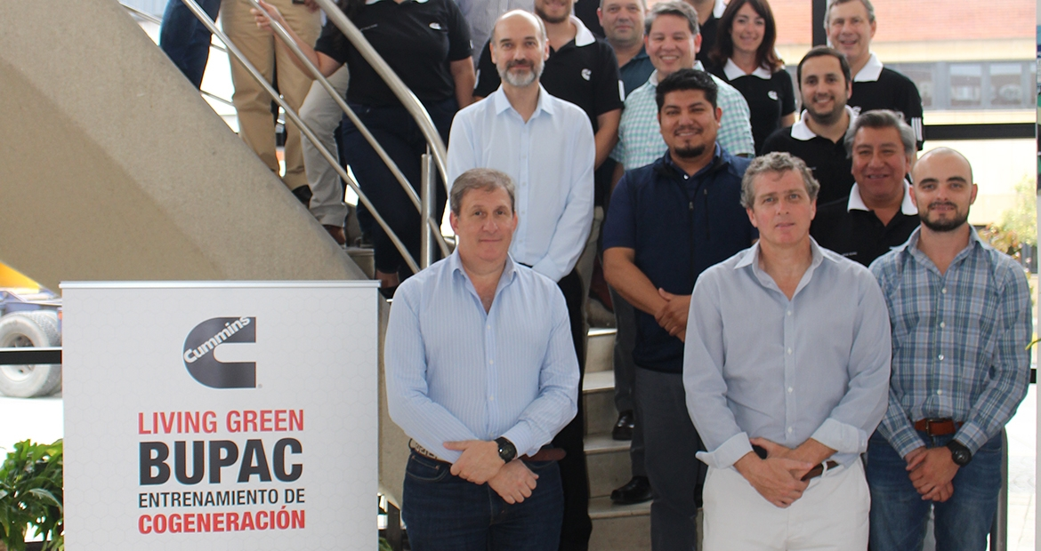 The Living Green BUPAC (Bolivia, Uruguay, Paraguay, Argentina and Chile) Cogeneration Training brought consultants and engineers together to learn more about cogeneration's many benefits.