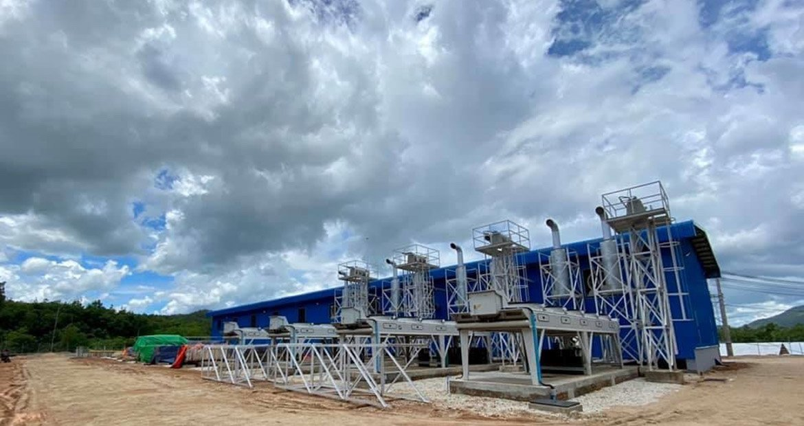 Eight Cummins QSV91G lean burn gas generator sets provide continuous gas power to the city and region of Dawei in southern Myanmar.