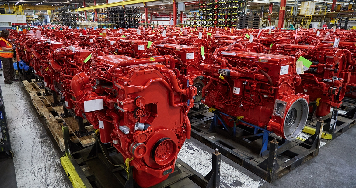 Cummins Inc  Celebrates Production of Two Millionth Engine