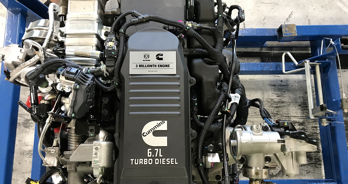 Cummins RAM - 3 Millionth Engine