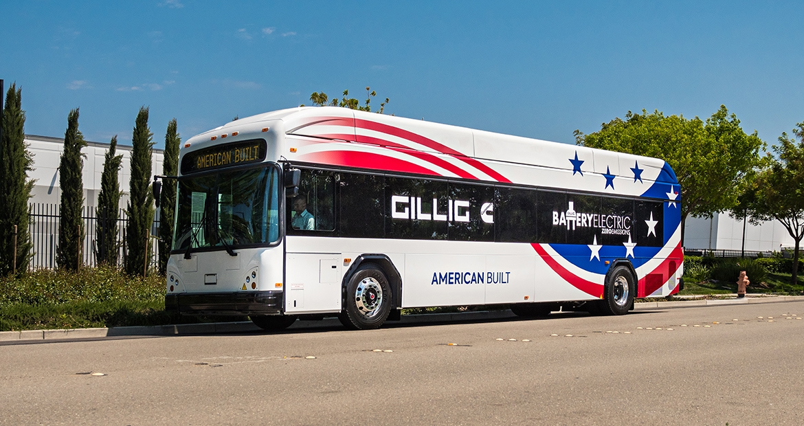 GILLIG's Cummins-powered Battery Electric Bus