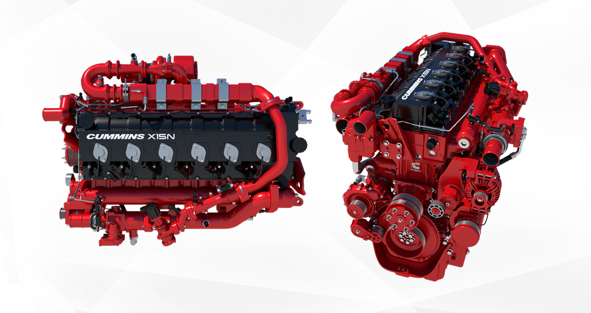 Cummins announces industry-changing 15-liter natural gas engine for North America.