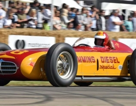 The Cummins Diesel Special's triumphant return to the Indianapolis Motor Speedway started with a successful 2017 appearance at the Goodwood Festival of Speed in England.