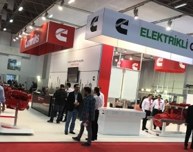 Cummins displayed an electric system for bus applications at the Busworld show in Izmir, Turkey.
