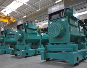 Considerations such as starting requirements or load stepping are important when the power comes from a finite source of power such as a diesel or gas generator.