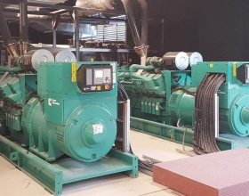Two Cummins C1675D5A generator sets support the dynamic uninterrupted power supply (DUPS) at Turk Telekom's new headquarters.