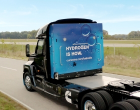 Cummins Hydrogen Fuel Cell Truck - NACV