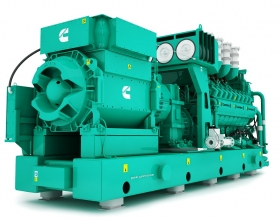 Cummins Inc. has announced the launch of a new upgraded 60 Hz natural gas generator set, powered by an 18-cylinder multi-turbo natural gas engine, as part of its 91-liter gas product range.